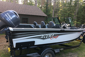 2017 Alumacraft 175 Trophy